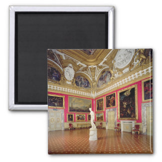 The 'Sala di Venere' (Hall of Venus) containing th Magnet