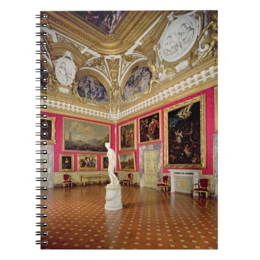 The 'Sala di Venere' (Hall of Venus) containing th Spiral Notebook