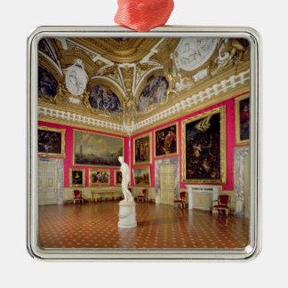 The 'Sala di Venere' (Hall of Venus) containing th Christmas Tree Ornaments