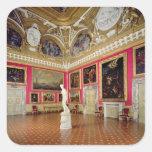 The 'Sala di Venere' (Hall of Venus) containing th Square Stickers