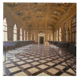 The Sala Dorata, built 1537-88 (photo) Ceramic Tile