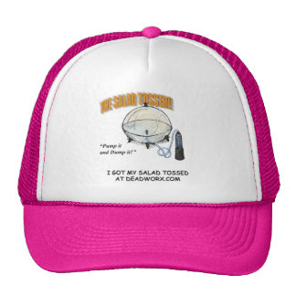 The Salad Tosser Ball Cap Trucker Hat