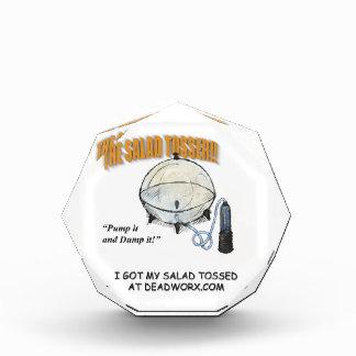 The Salad Tosser Paper Weight Award