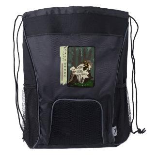 'The Salamander' Drawstring Backpack
