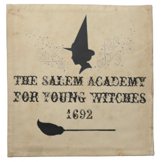 The Salem Academy for Young Witches Napkin