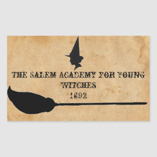 The Salem Academy for Young Witches Rectangular Sticker