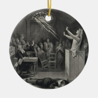 The Salem Witch Trials The Witch Number 1 Christmas Tree Ornament