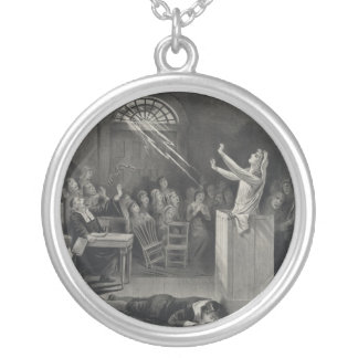 The Salem Witch Trials The Witch Number 1 Silver Plated Necklace