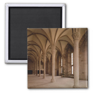 The Salle des Hotes, interior view of the Abbey Magnet