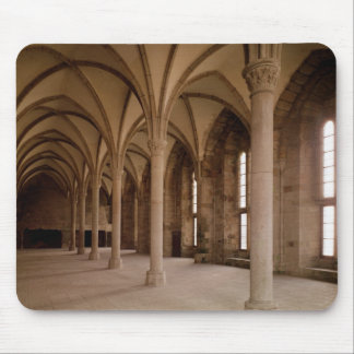 The Salle des Hotes, interior view of the Abbey Mouse Pad