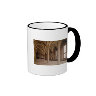 The Salle des Hotes, interior view of the Abbey Ringer Coffee Mug