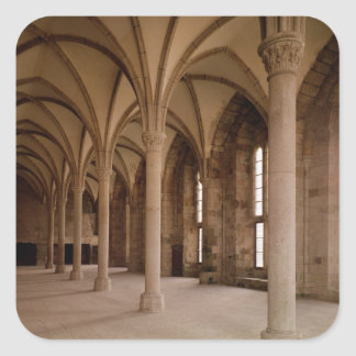 The Salle des Hotes, interior view of the Abbey Square Sticker