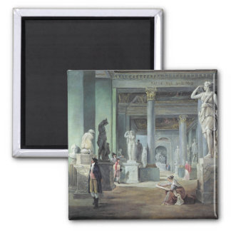 The Salle des Saisons at the Louvre, c. 1802 Magnet