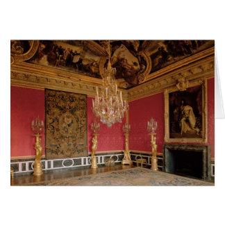 The Salon d'Apollon (Apollo Room) with tapestries Card