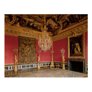 The Salon d'Apollon (Apollo Room) with tapestries Postcard