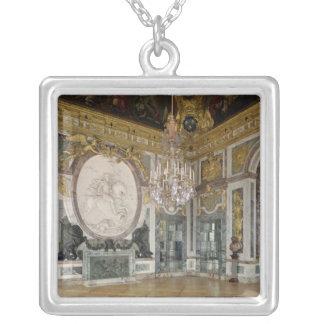 The Salon de la Guerre  1678-84 Silver Plated Necklace