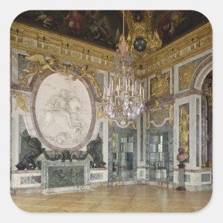The Salon de la Guerre  1678-84 Square Sticker