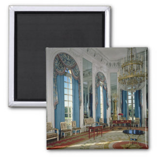 The Salon des Glaces (The Room of Mirrors) in the 2 Inch Square Magnet