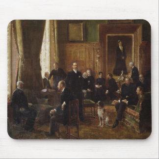 The Salon of the Countess Potocka, 1887 Mousepad