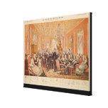 The Salon of Victor Hugo Gallery Wrap Canvas
