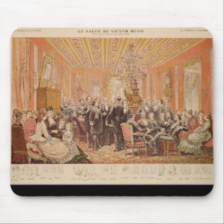 The Salon of Victor Hugo Mouse Pad
