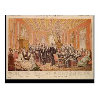 The Salon of Victor Hugo Postcard