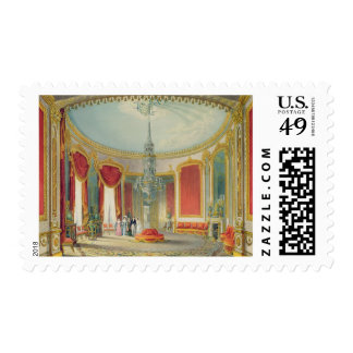 The Saloon in its final phase from Views of the Ro Stamp