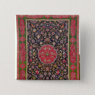 The Salting Carpet, c.1588-98 Pinback Button