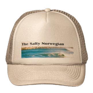 the salty norwegian trucker hat
