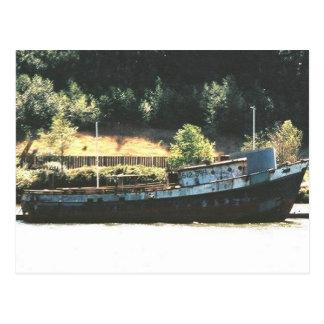 the  salvage postcard
