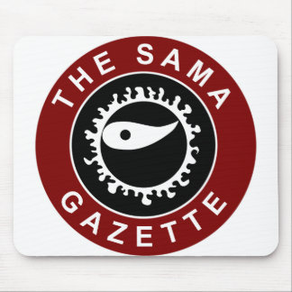 The Sama Gazette - Work With It! Mouse Pad