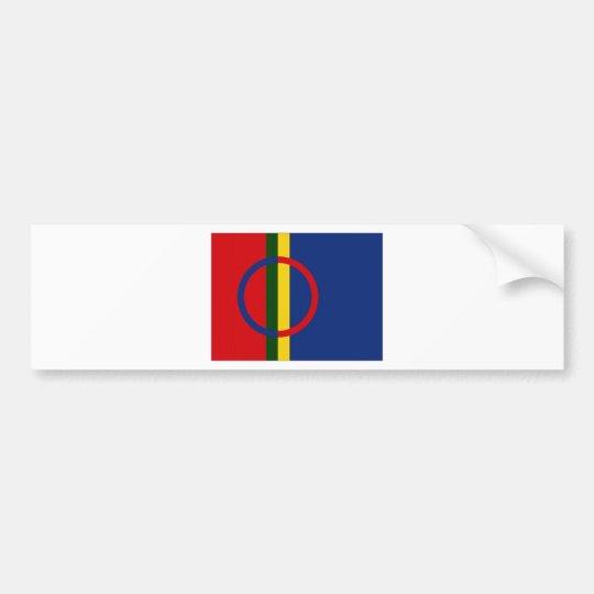The Sami Flag Bumper Sticker
