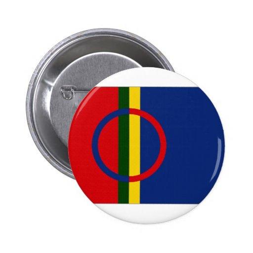 The Sami Flag Buttons