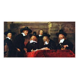 The Sampling Officials. By Rembrandt Van Rijn Photo Greeting Card