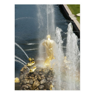 The Samson Fountain, Peterhof, St.Petersburg Postcard