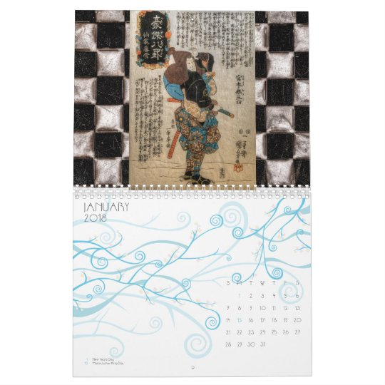 The Samurai Calendar