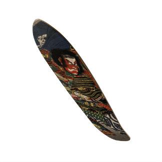 The samurai warriors Tadanori and Noritsune Skateboard Deck