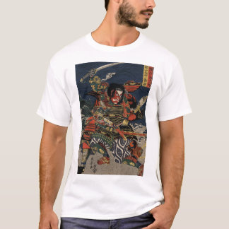 The samurai warriors Tadanori and Noritsune T-Shirt