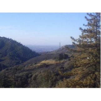 The San Bernardino Mountains Standing Photo Sculpture