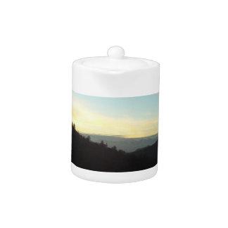 The San Bernardino Mountains Teapot