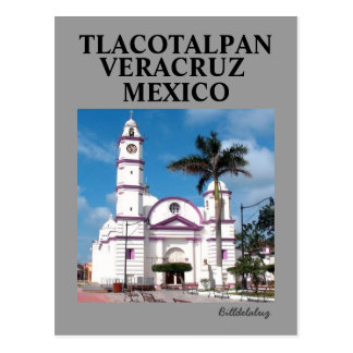 The San Cristobal Church Postcard