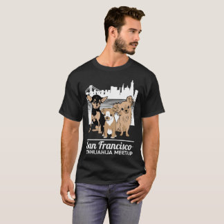 The San Francisco Chihuahua Meetup Regular. Logo T-Shirt