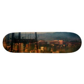 The San Francisco cityzun scape design Skateboard Deck