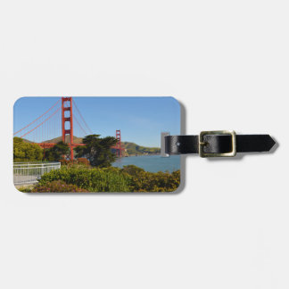 The San Francisco Golden Gate Bridge in California Bag Tag