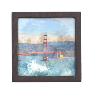 The San Francisco Golden Gate Bridge in California Gift Box