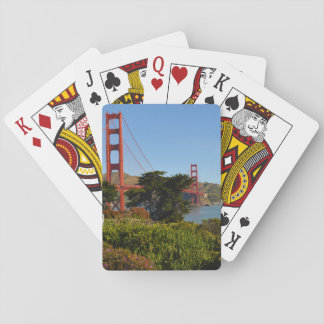The San Francisco Golden Gate Bridge in California Playing Cards