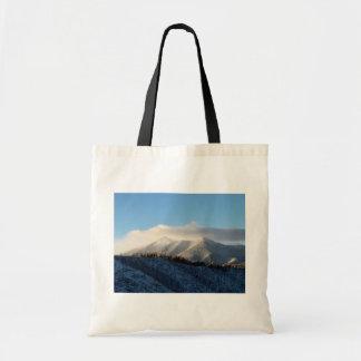 The San Francisco Peaks Of Flagstaff Freshly Coate Canvas Bag