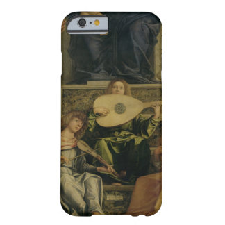 The San Giobbe Altarpiece, detail of angels playin Barely There iPhone 6 Case