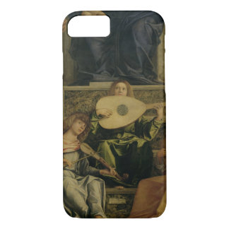 The San Giobbe Altarpiece, detail of angels playin iPhone 8/7 Case