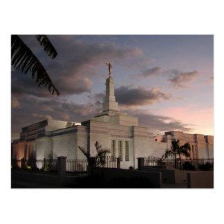 The San José Costa Rica LDS Temple Postcard